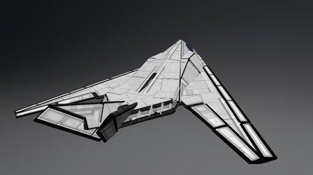 Lockheed F117 Nighthawk 3D Model