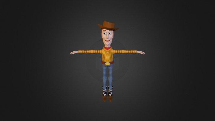Woody 3D Model