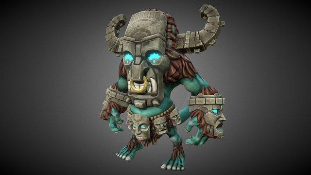 Tribal Guy 3D Model