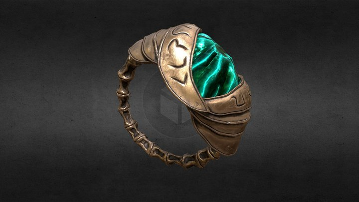 Skywind Ring of Phynaster 3D Model