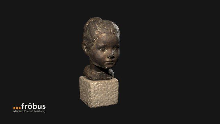 Mädchenkopf 3D Model