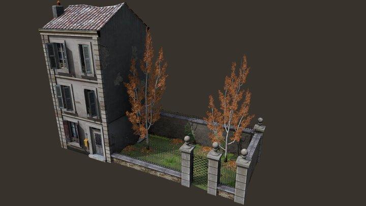 CityScene_AO 3D Model