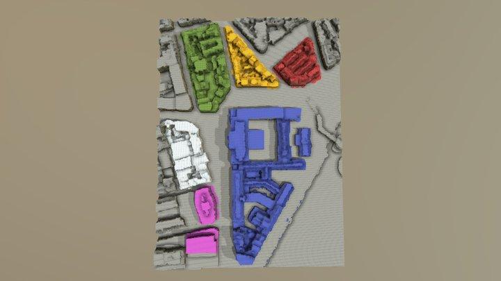 Carte LiègeCraft 1.0 3D Model