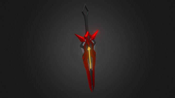 Infinity Sword 3D Model
