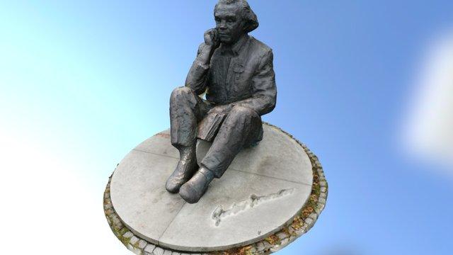 Statue Tallin 3D Model