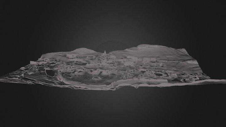 Curve_3D_1mt_dem2_pre_simplify 3D Model