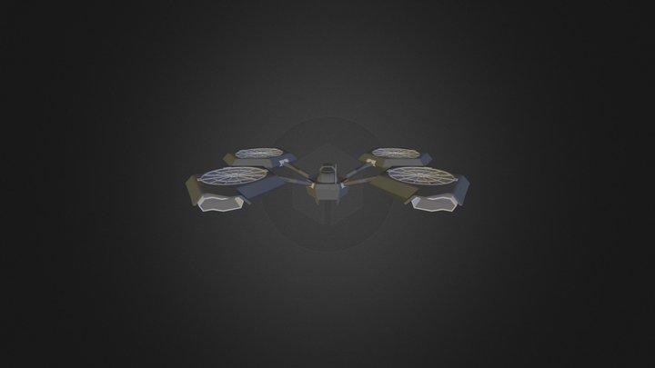 S M Drone Hybrid 3D Model