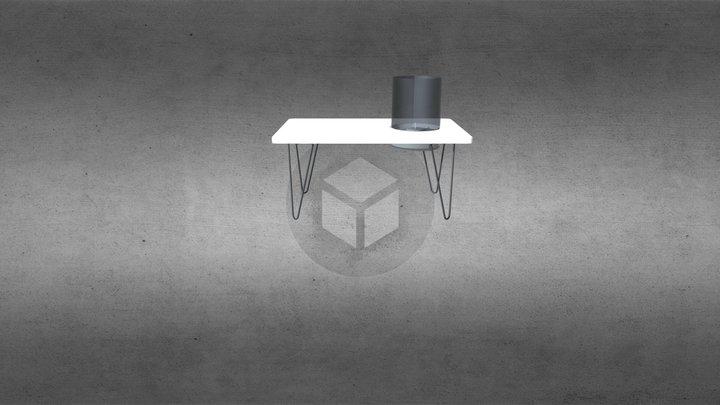 Fire Table Mini 3D Model