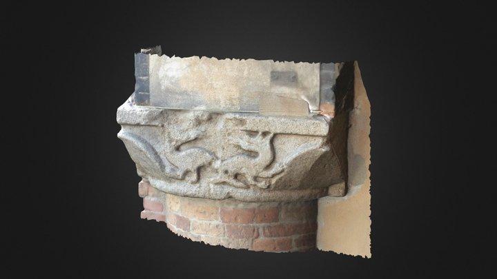 Palazzo Podestà - Capitello Sud 3D Model