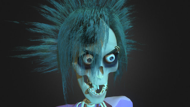 Ghost of 2007 3D Model