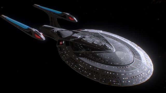 Enterprise-E 3D Model