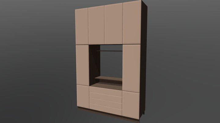 Gardrob cabinet 3D Model