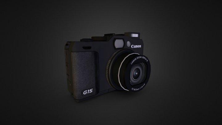 Canon G15 3D Model