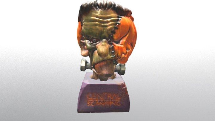Halloween Frankie 3D Model