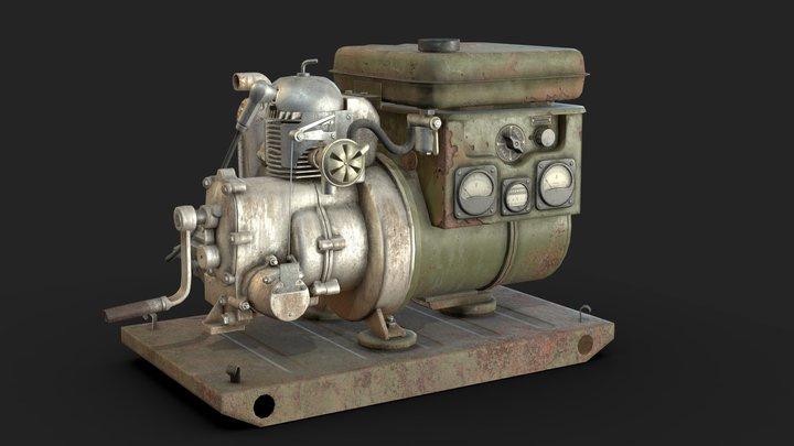 Generator gab 1-0 230 3D Model