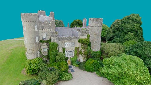 3D Model of Malahide Castle 3D Model