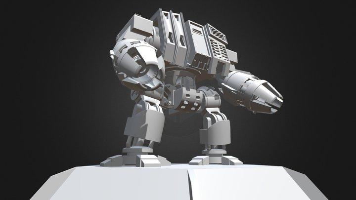 Dreadnought 40K 3D Model