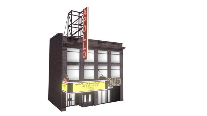 Harlem Apollo Theater 3D Model