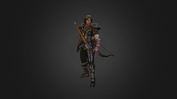Overpower Ranger 3D Model