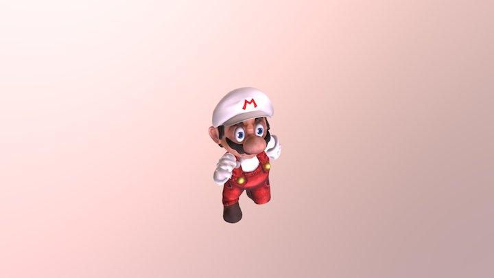 Super Mario Real 3D Model