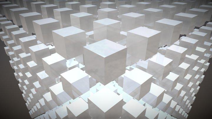 Three-dimensional matrix 3D Model
