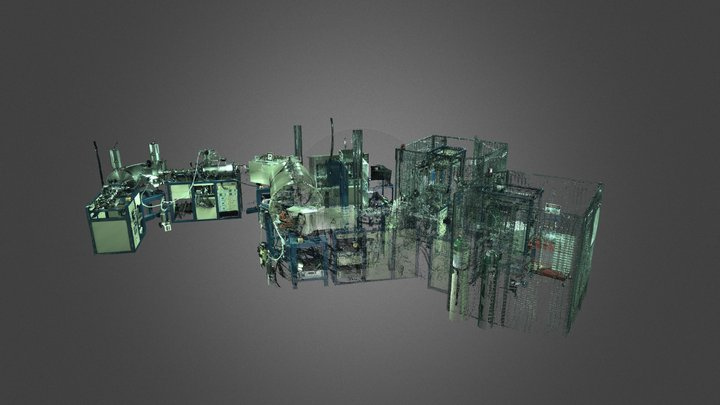 Accelerator Mass Spectrometry Lab 3D Model