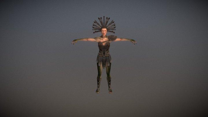 Medusa Pack PBR (Human Version) 3D Model