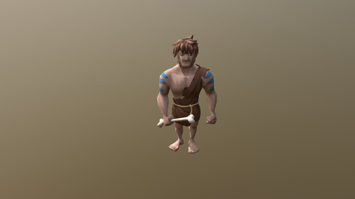 Character for game on Unity 3D Model