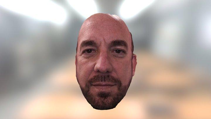 Bellus3D Face Camera Pro - Male Face Model 3D Model