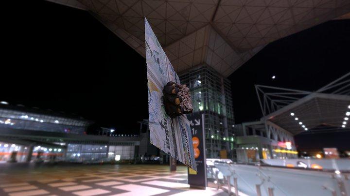 Mano - Arco palmar superficial y túnel carpiano 3D Model