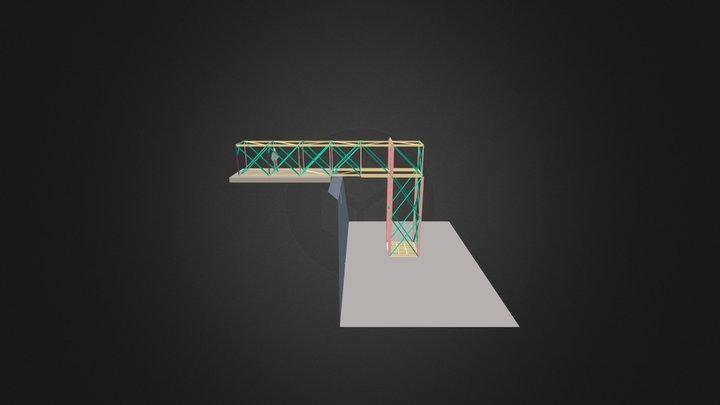 Pump Support 3D Model