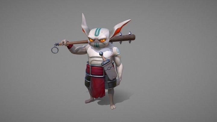 Goblin Bro 3D Model