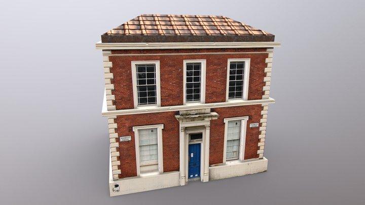 Building Apartment 13 3D Model