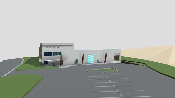 WARE HOUSE 3D Model