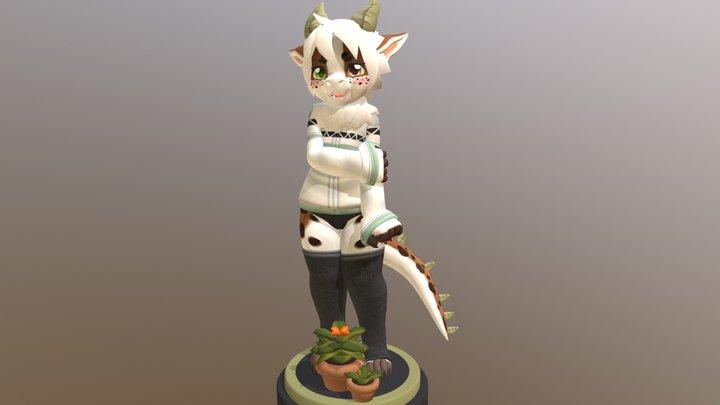 Figgy 3D Model