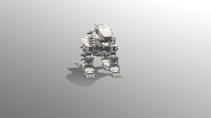 LigerZeroLH 3D Model