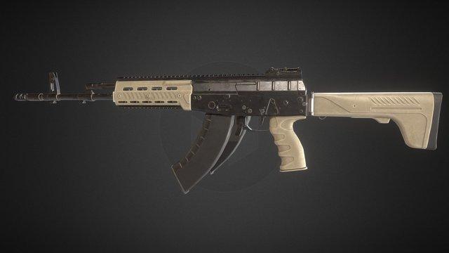 AK-12 (PBR) revision 1 3D Model