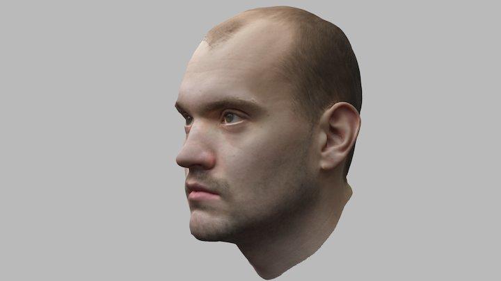 Jack Headscan Single Camera 3D Model
