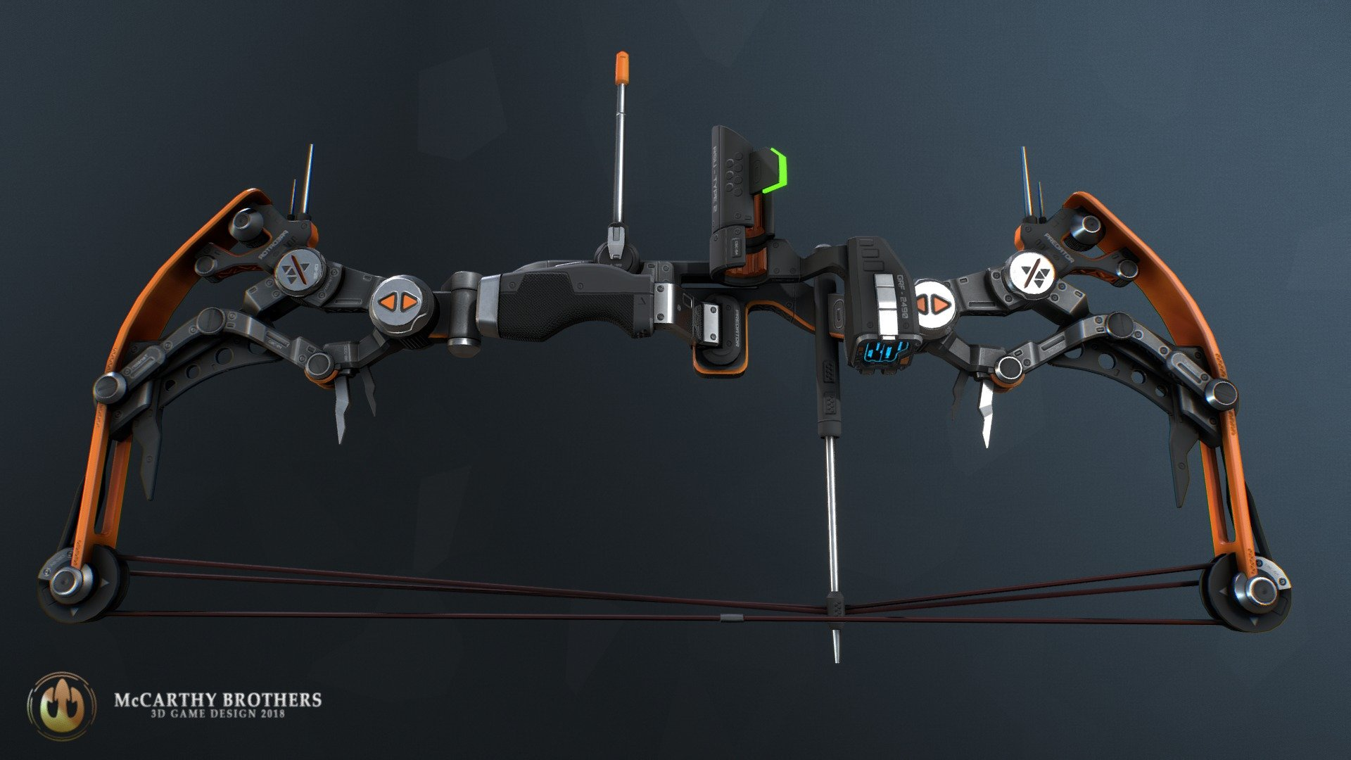 Predator 004 - Compound Bow - Buy Royalty Free 3D model by