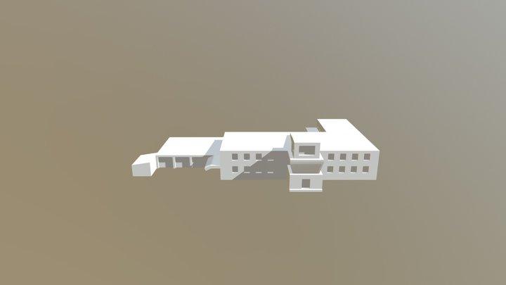 Airport Operations Building 3D Model