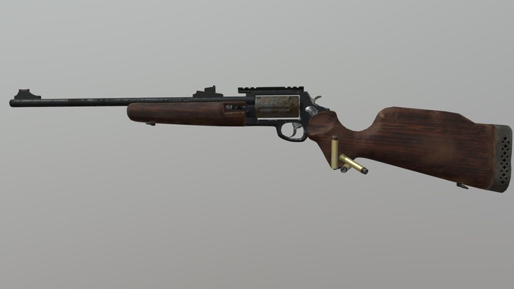 Circuit Judge Rifle 3D Model