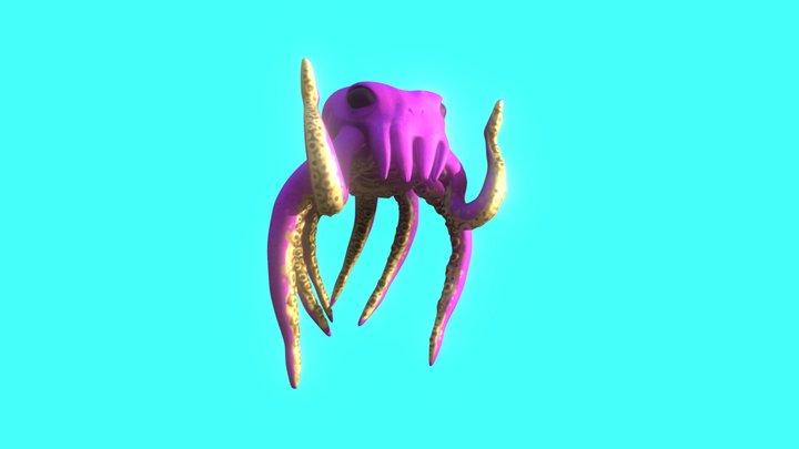 King Kraken - V3 3D Model