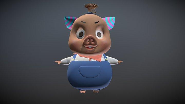 Piggy 3D Model