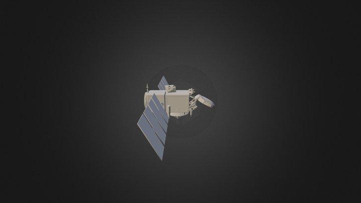 Jason-3 3D Model