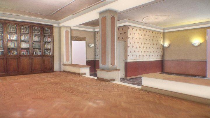 #30DaysinVR Turin Room 3D Model