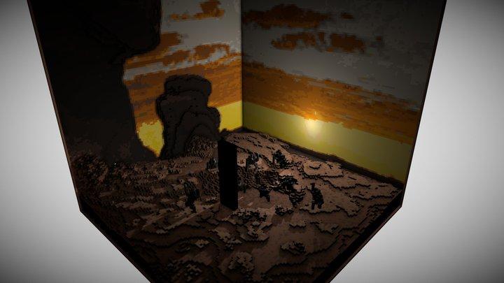 The Monolith 3D Model