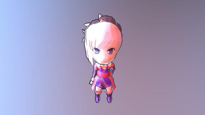 Nendroid Musashi 3 3D Model