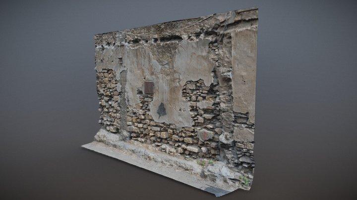 """Wall"" 3rd June 2020 3D Model"