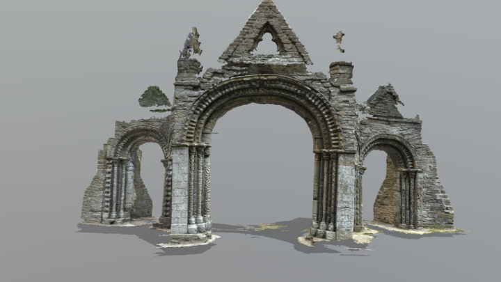 Shobdon Arches - Herefordshire 3D Model