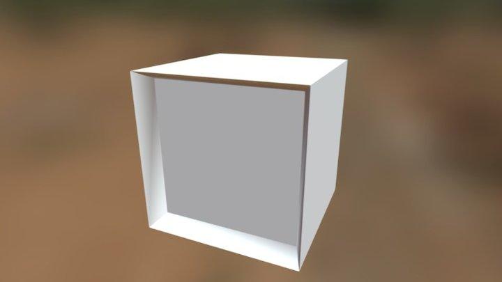 Box Lamp 3D Model